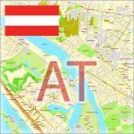Austria Cities and Country Maps Vector Adobe Illustrator PDF CDR