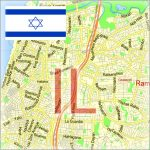 Israel City Maps Vector Urban Plans in the Adobe Illustrator PDF