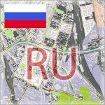 Russia City Plans Vector Street maps in the Adobe Illustrator PDF