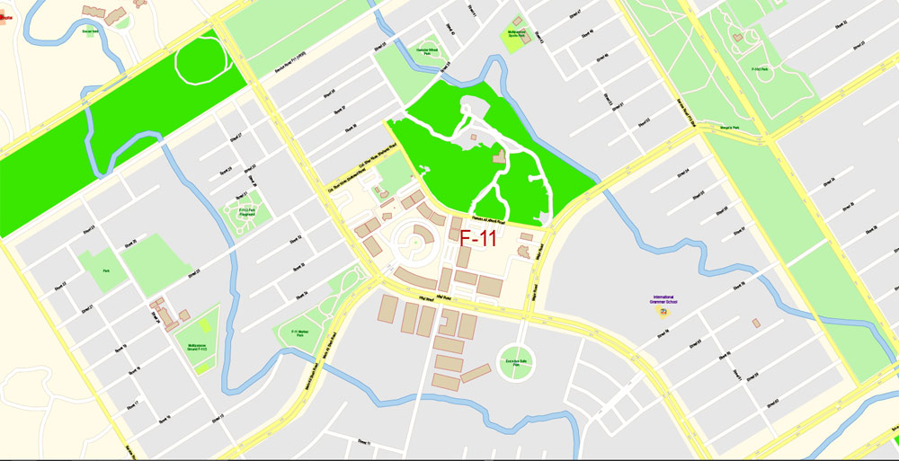 Street map Islamabad Rawalpindi PDF