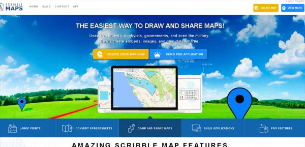 Good online tools for creating vector maps
