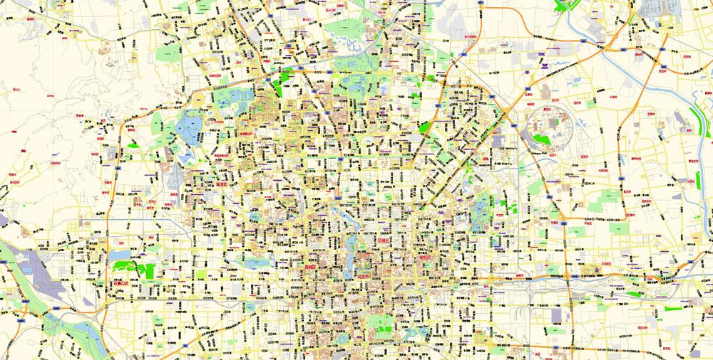 Street map Beijing China PDF 13