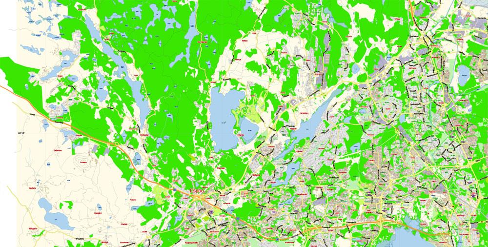 Urban plan Helsinki Espoo Vantaa PDF