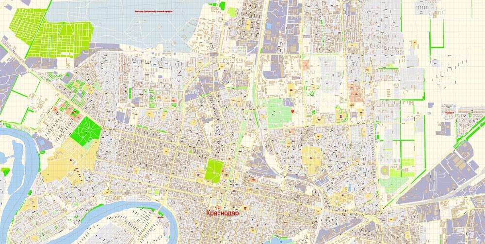 территория, которой карта краснодара с фото улицами и домами поздравления