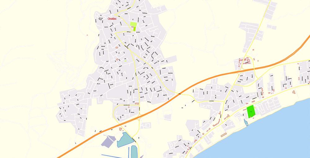 Pdf map Mykonos Island PDF