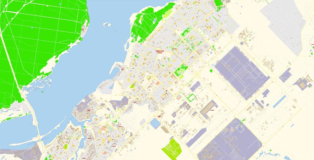 Urban plan Naberezhnye Chelny PDF Russia