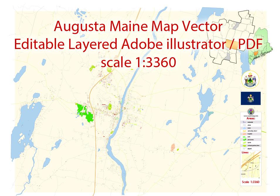 Urban plan Augusta Maine PDF