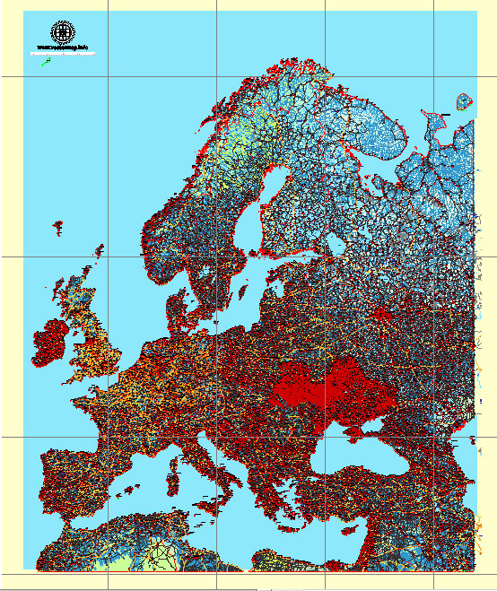 Western Europe, Geography and Natural Conditions