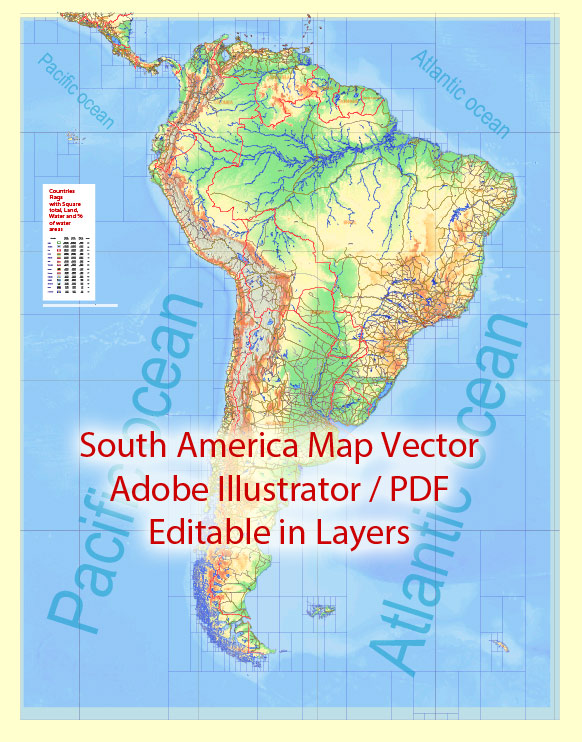 SOUTHERN AMERICA. THE CLIMATE AND NATURE