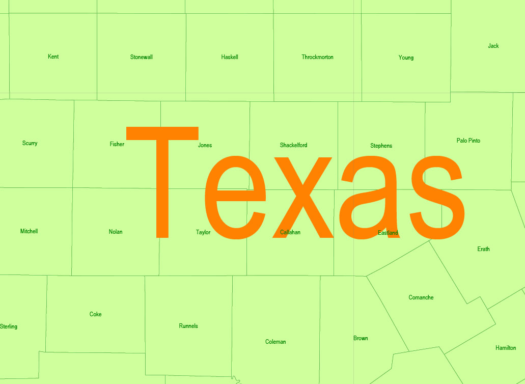 Urban plan Texas Louisiana Counties PDF
