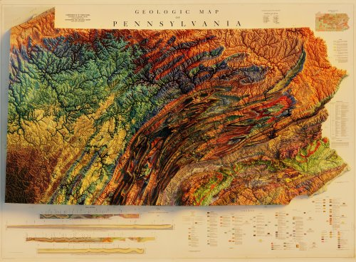 Geologic Map of Pennsylvania - Commonwealth of Pennsylvania,...