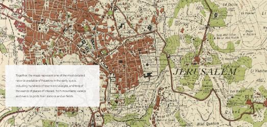 Vector Maps: Maps Mania: Mapping the Nakba