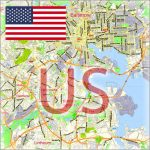 United States City Plans Vector Street Maps and Full US Maps in Adobe Illustrator, PDF and other vector formats